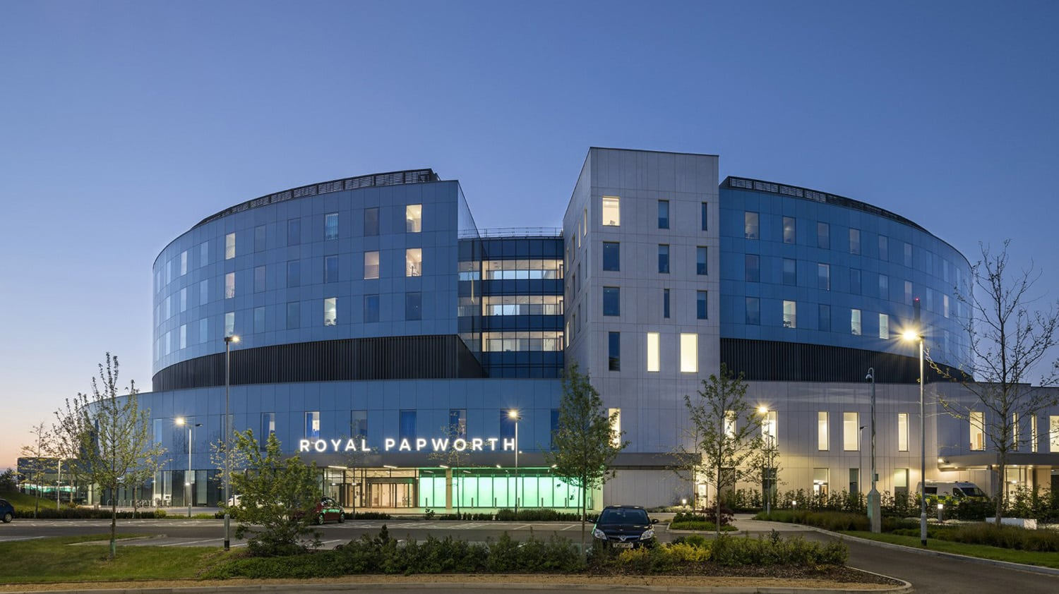 photo of Royal Papworth hospital where Dr. Leonard Shapiro practices